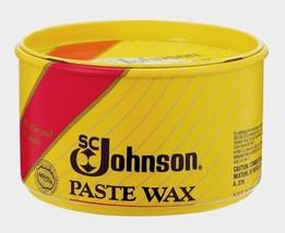 New SC Johnson Paste Carnauba Wax 1 lb. Wood Metal Cork Vinyl Satin Lust... - $14.50