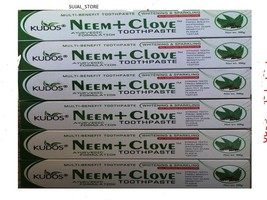 5 X Neem Tooth Paste  With Clove  Herbal Whitening & Sparkling 100 gm - $29.21