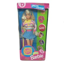 VINTAGE 1994 MATTEL BARBIE DOLL SPECIAL EDITION POG FUN # 13239 BLONDE I... - $45.82