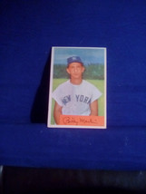 1954 Bowman Billly Martin #145 - $40.00