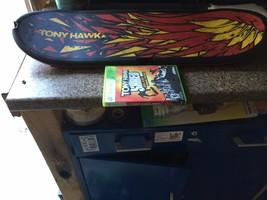 TONY HAWK SHRED, BIG AIR, BIGGER TRICKS WIRELESS BOARD, SENSOR, & GAME - $19.80