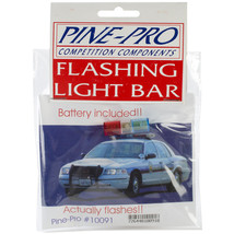 Pine Car Derby Flashing Light Bar W/Battery- - $30.81