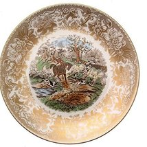 Spode Hunting Scenes Drawing The Dingle Produced from Engravings After J F Herri - $108.29