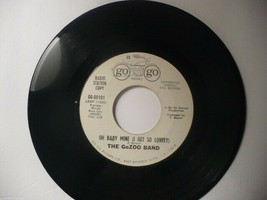 """THE GoZOO BAND """"SID'S LID/OH BABY MINE"""" 1967 PROM ROCK-POP 45 GO/GO RECO... - $5.86"""