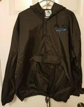 Mens Powerade Augusta Sportswear Windbreaker With Hood 1/4 Zip Size XL Rare - $17.46