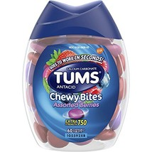 TUMS Chewy Bites Assorted Berries Antacid Hard Shell Chews for Heartburn... - $17.50
