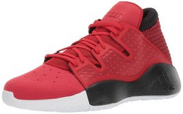 adidas Men's Pro Vision Basketball Shoes, Red Scarlet/Black/White, Size ... - $69.25
