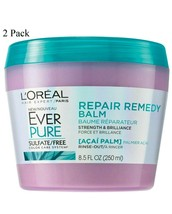 L'Oreal Paris Hair Expert Repair Remedy Balm Strength & Brilliance 8.5 o... - $14.50