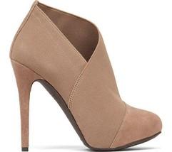 Women's Shoes Jessica Simpson NEESHA Asymmetrical Platform Shooties Taupe - $71.99