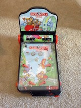 Monopoly Junior Tabletop Pinball Machine FunRise 2004 Tested Works - $15.84