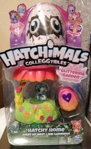 Hatchimals Colleggtibles Season 4 Hatchy Home Light up Nest Glittering G... - $12.97