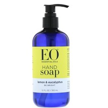 EO Products, Hand Soap, Lemon & Eucalyptus, 12 fl oz (355 ml) - $10.64