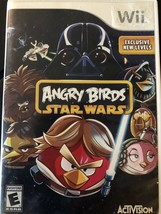 Angry Birds Star Wars - Nintendo  Wii Game - $6.23