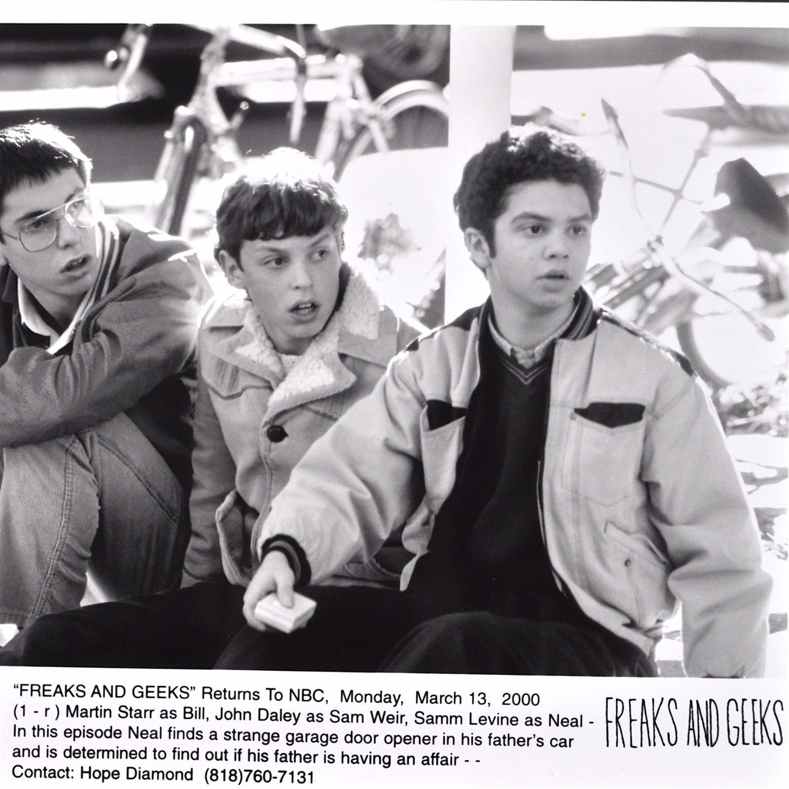 Freaks And Geeks Publicity Photo 2000 Press And 50 Similar Items