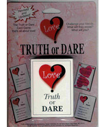 Truth Or Dare Card Game - $4.90