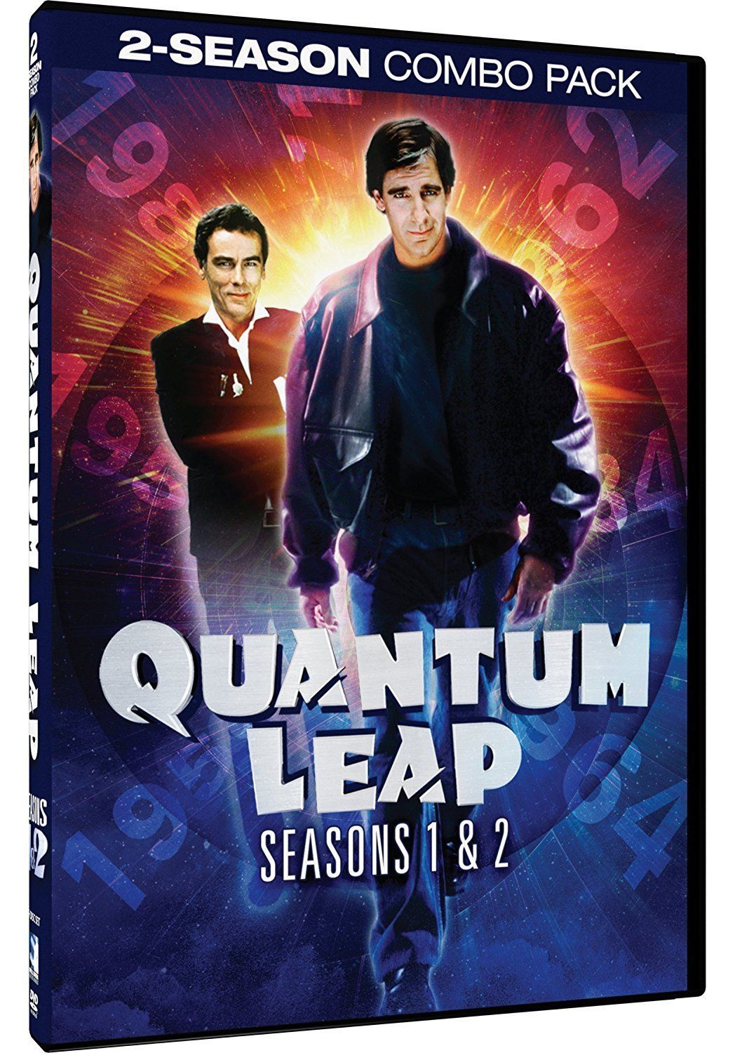 Quantum Leap Complete First Second Season 1 & 2 DVD Set Episodes Show TV One Two