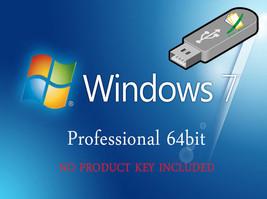Microsoft Windows 7 Professional 64bit Re-Install Recovery Repair Fix Bo... - $16.48