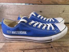 Converse All Star New Amsterdam Men's Size 10 Women's Size 12 Blue 130127F - $49.49