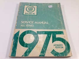 1975 Buick Advanced Edition Factory Shop OEM Service Manual All Series - $14.99