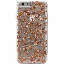 Case Mate Karat Dual Layer Hard Case Cover Fits iPhone 8 iPhone 7 & 6 Ro... - $19.50