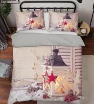 3D Christmas  Xmas 07 Bed Pillowcases Quilt Duvet Cover Set Single Queen King AU - $64.32+