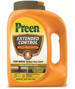 Preen 2464092 Extended Control Weed Preventer - 4.93 lb. - Covers 805 sq... - $25.21+