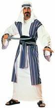 Rubies Desert Prince Sheik Sultan Arabian Adult Mens Halloween Costume 1... - £21.99 GBP