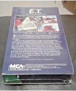 E.T. The Extra Terrestrial NEW VHS 1988 GREEN BLACK EDITION w/ Factory M... - $44.55