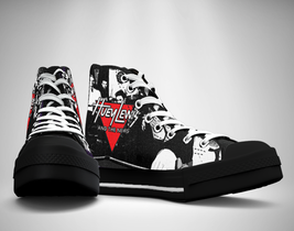 Huey Lewis & the News Canvas Sneakers Shoes - $29.99