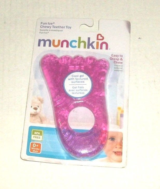 Primary image for PINK CHEWY TEETHER TOY