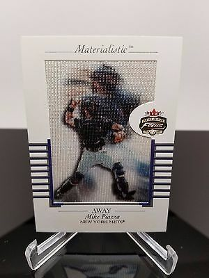 Mike Piazza 2002 Fleer Materialistic Jersey Edition 3 of 15 M