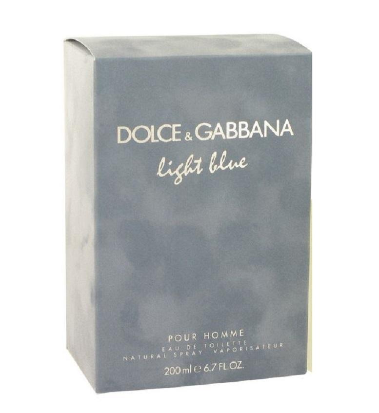 Light Blue for Men by Dolce & Gabbana Eau De Toilette Spray Mysterious Confident