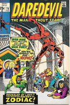 Daredevil Comic Book #73 Marvel Comics 1971 VERY FINE- - $20.24