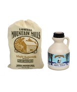 Pancakes and Maple Syrup Special - Pure Vermont Maple Syrup and Pancake Mix - $22.20