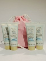 Mary Kay satin hands fragrance free hand cream Travel Size lot of 4  - $4.99
