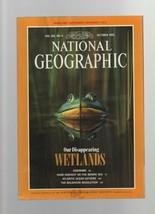 National Geographic - October 1992 - Wetlands, Geronimo, Bering Sea, Atl... - $1.35