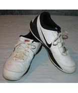 Nike Air Ring Leader Sz 15 Low Rise Sneakers Athletic Shoes 488102 White... - $38.70