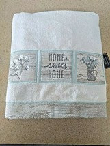 Avanti Linens Sweet Home Set of 2 Towels - Ivory  new with tags  image 1