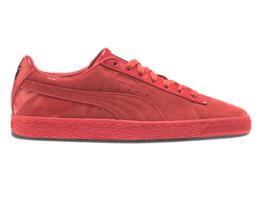 Puma Suede Classic x Mac Lady Danger Lipstick Red Womens Sneakers 368014 01 - £49.44 GBP