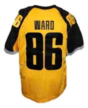 Hines Ward #86 Gotham Rogues The Dark Knight Men Football Jersey Yellow Any Size image 5