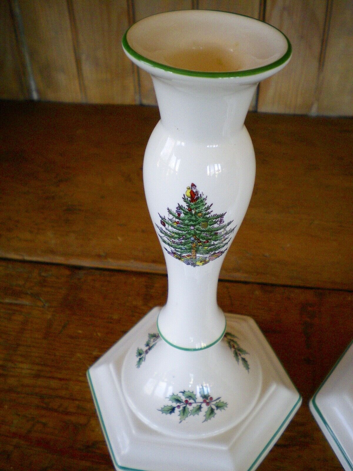Spode Candlestick 3 Listings