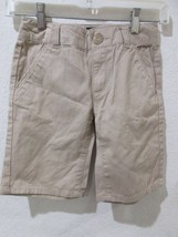 NWT Girls Gap Kids Uniform Flat Front Shorts Khaki Size 8 - $9.99