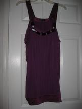 Bebe Violet Bead detail Mini Dress XS EUC - $15.99