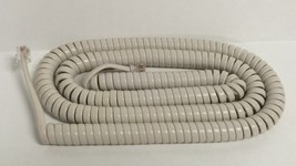 New 25 Ft Long Handset Receiver Curly Cord for Panasonic Phone - off whi... - $3.99