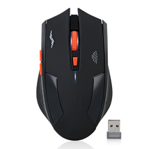 Rechargeable Wireless Mouse 2400DPI 2.4G Gaming Optical Mouse - $18.99