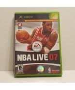 NBA Live 07 (Microsoft Xbox, 2006) Video game. Pre-owned - $9.00