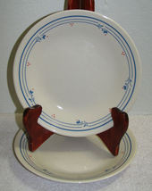 2 Corelle Country Violet Bread and Butter Plates  - $4.00