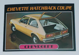 1976 topps cars 1977 Chevrolet sa coupe card #18 vg-ex cond - $13.70