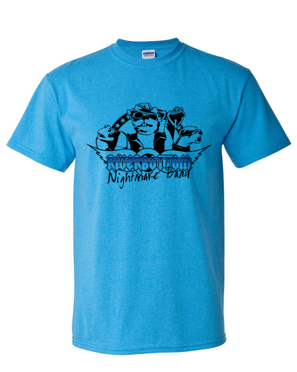 Mare band t shirt emmet otter s jug band christmas graphic tee for sale online tshirt store blue