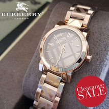 Burberry BU9235 Women's The City Watch Rose Gold 26mm - MSRP 795 USD - 2 years w - $308.00